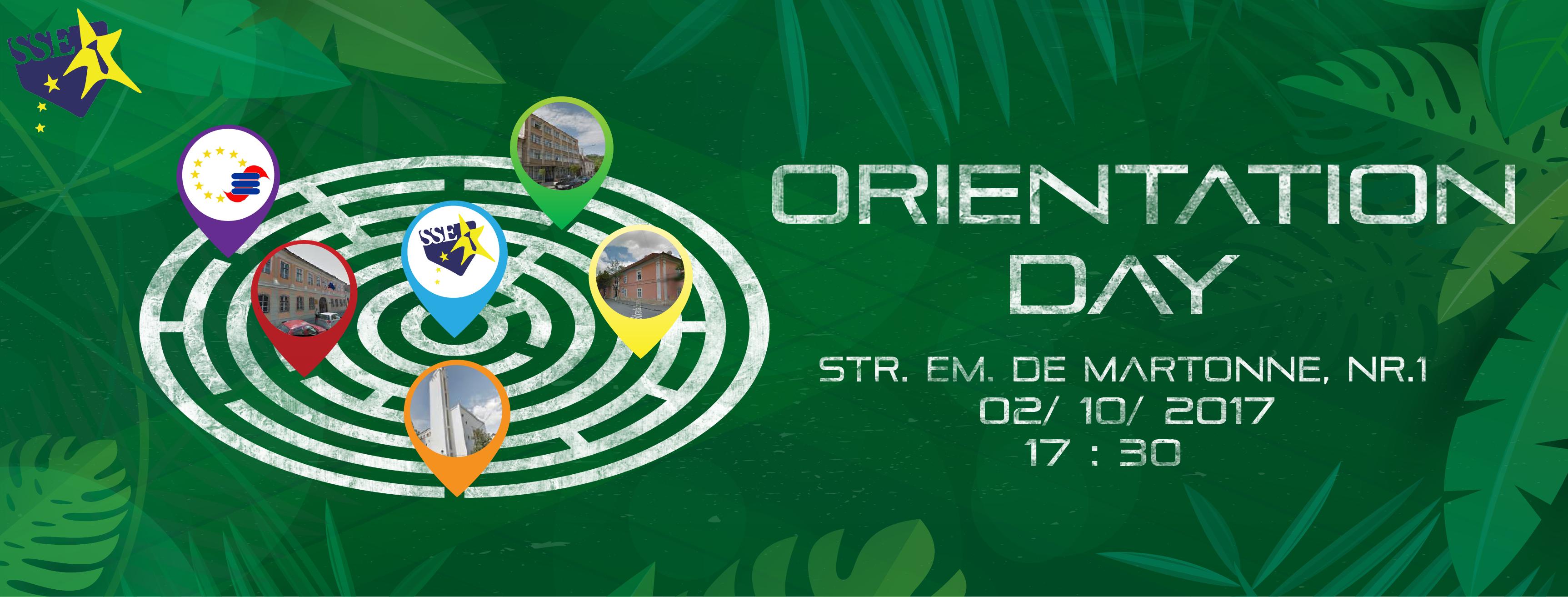 Orientation Day – Facultatea de Studii Europene