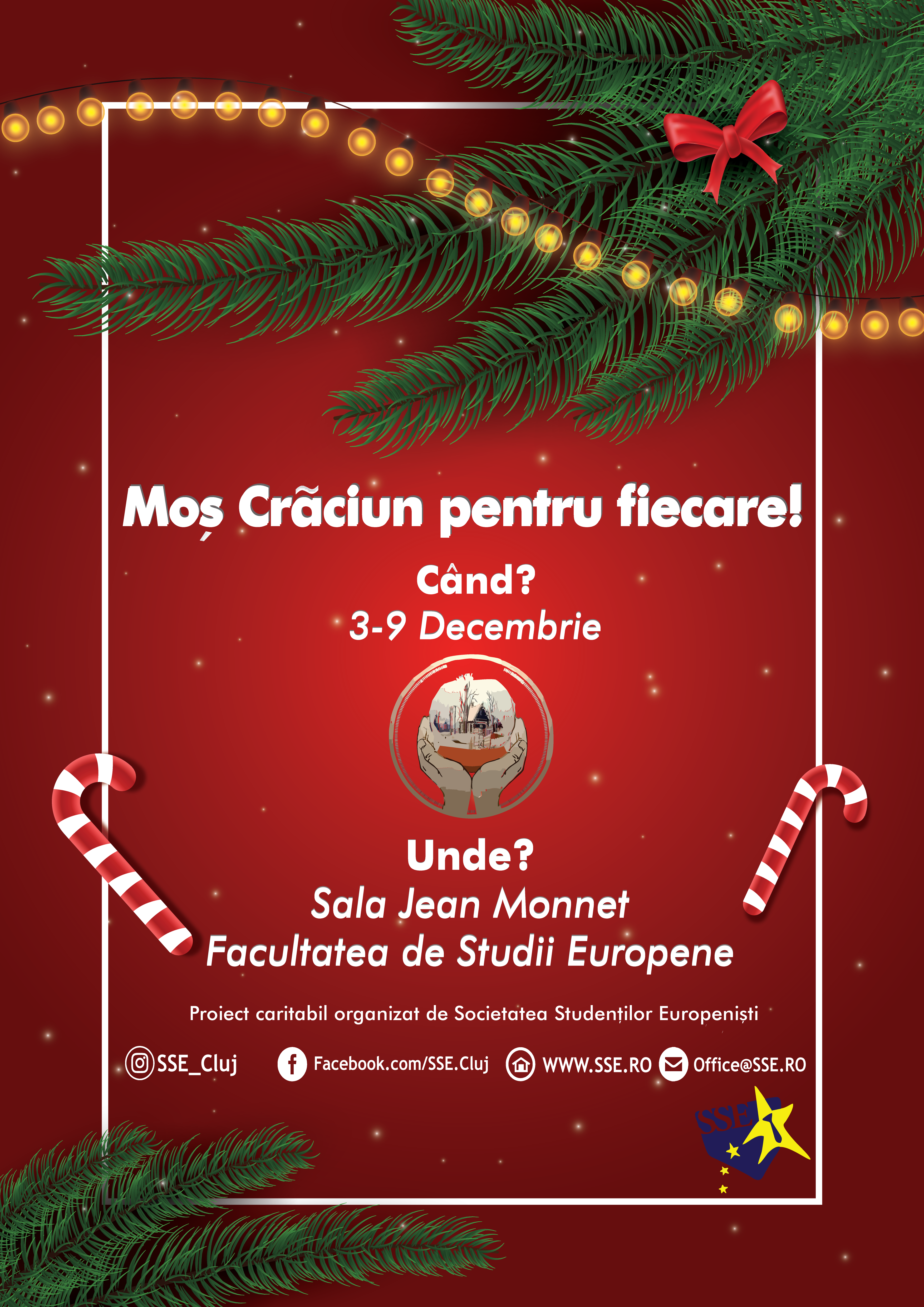 Moș Crăciun pentru fiecare 2018 – Asociația AGA